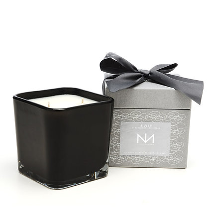 SILVER FRAGRANT CANDLE