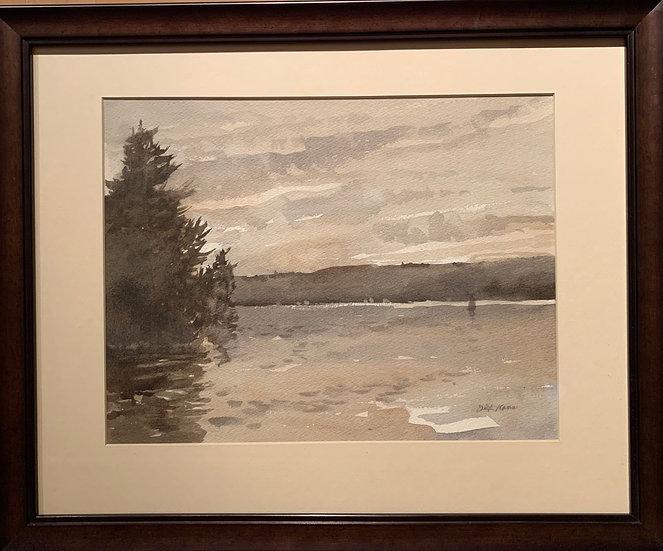 Finger Lakes Mood  22 x18