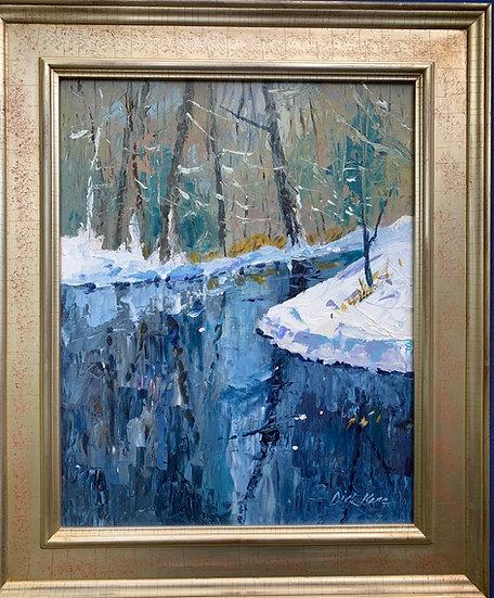 "Bend in the Creek, Ellison Park- 22' x 26"""