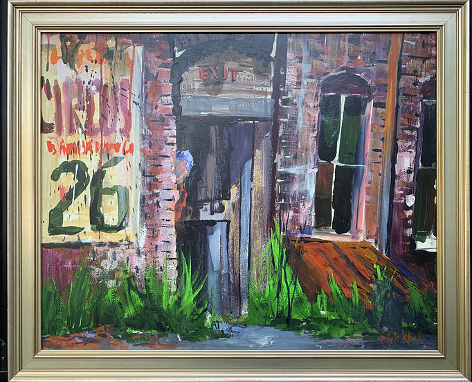 """Hannah's Place-33"""" x 28"""" LARGER SIZE"""