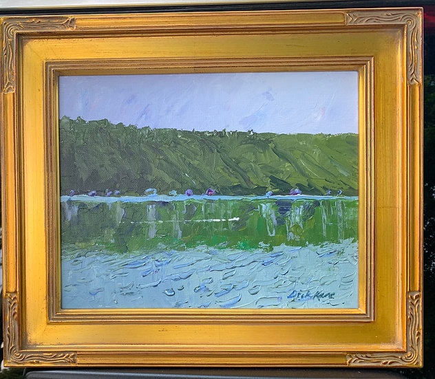 """A Quiet Morning on the Lake-13"""" x 11"""""""