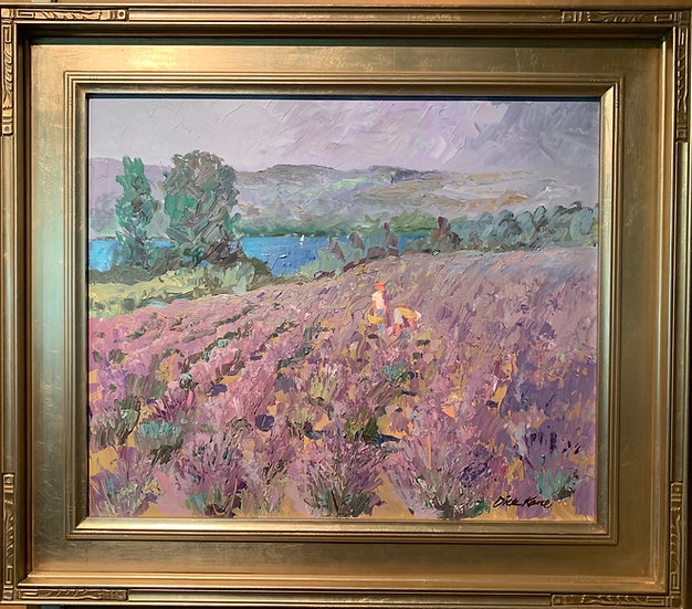 Finger Lakes-Lavender Field   31x27