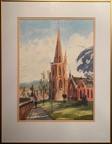 English Churchyard 19 x 25