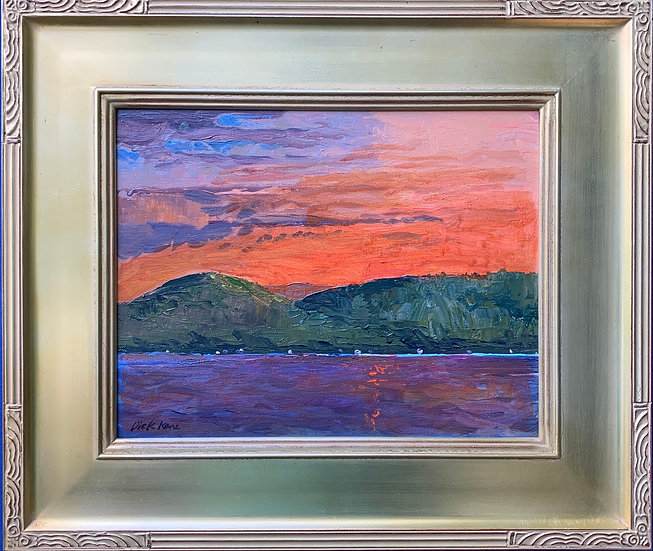 "Canandaigua Colors- 20"" x 17"""