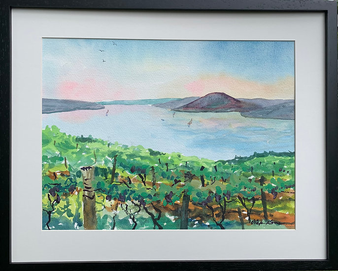 Canandaigua Vineyards  17 x 21