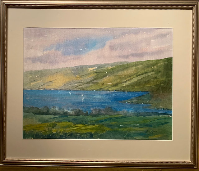 Perfect Finger LakesDay  26 x 22