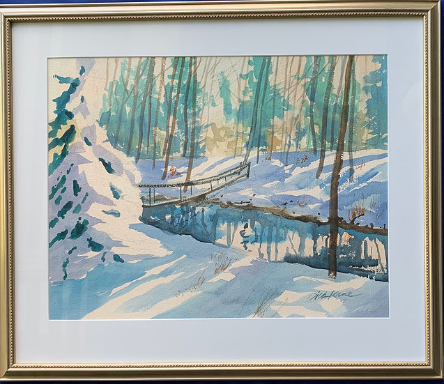 "Winter Wonderland- 25"" x 21"""