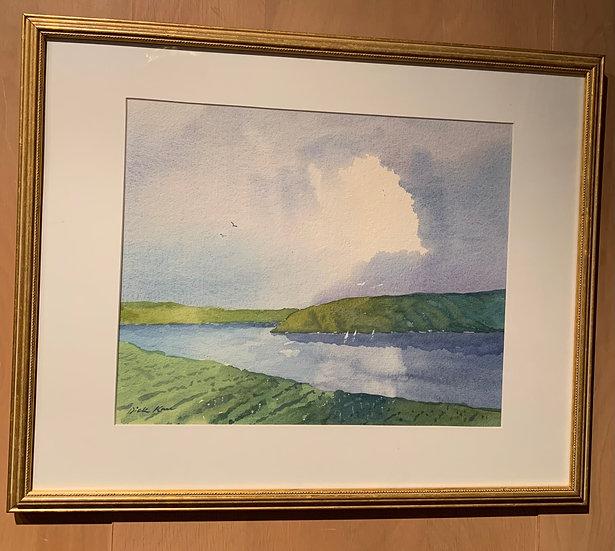 Lake Morning  21 x 17