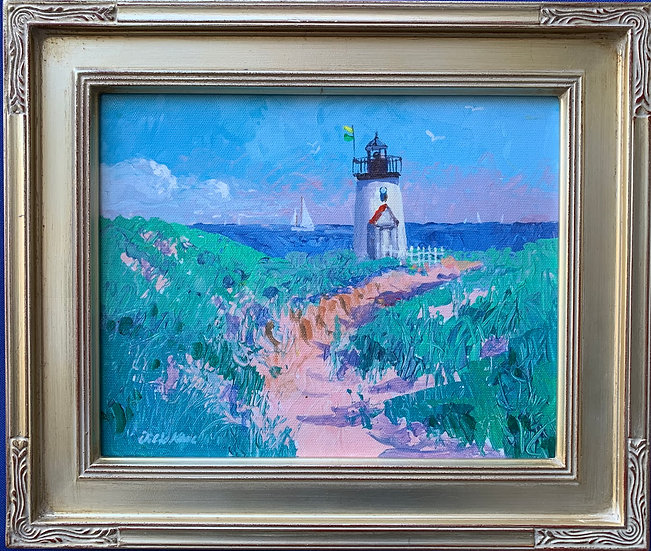 """Nantucket Lighthouse 13"""" x 11"""""""