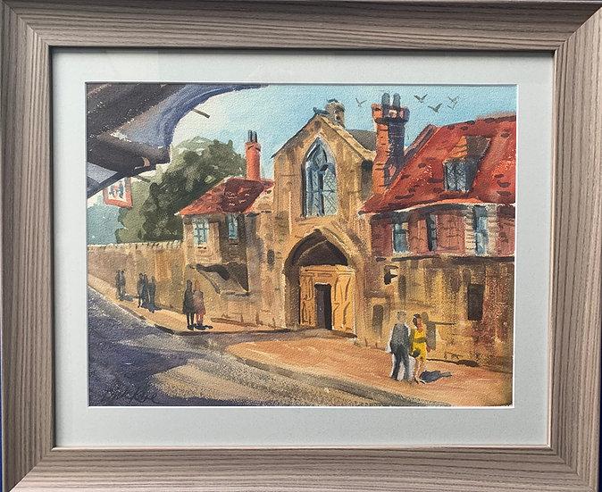 "St. Anne's Gate-Salisbury, England-22"" x 20"""