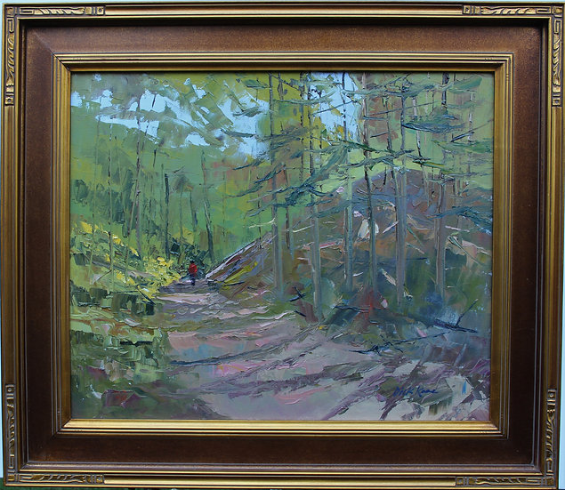 "Mendon Ponds Trail-31"" x 27"""