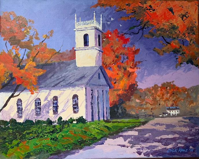 Country Church  20 x 16