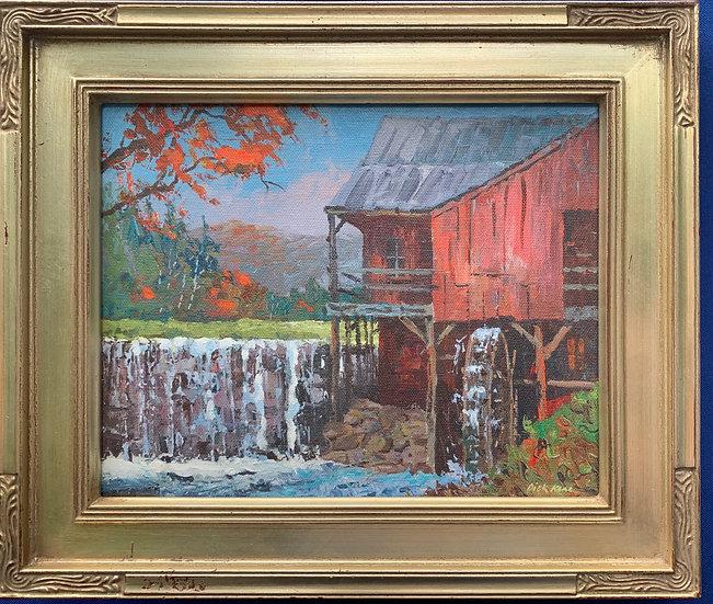 """Vermont Mill-  11"""" x 13"""""""