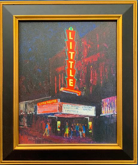 "The Little Theatre- 22"" x 26"""