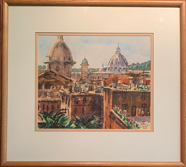 Rome Overview 17 x19
