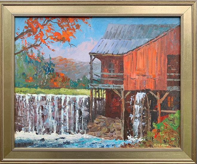 """Vermont Mill- 23"""" x 19"""""""