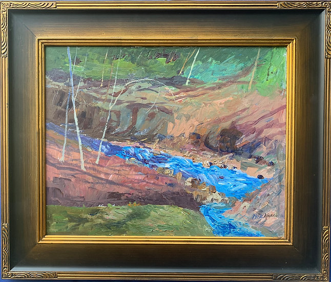 "Babbling Brook- 26"" x 23"""