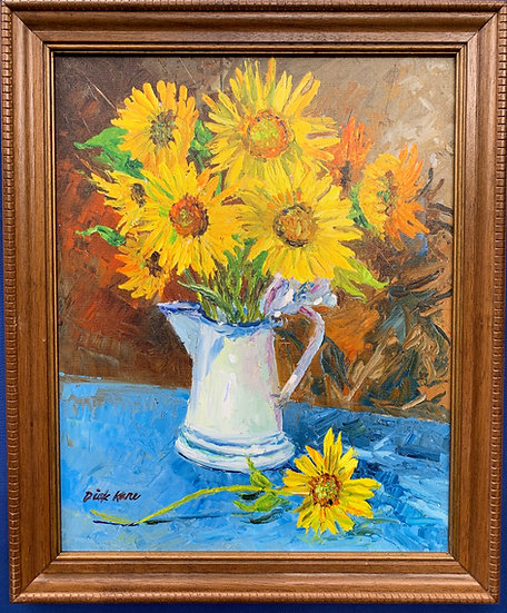 "Bouquet of Sunshine- 19"" x 23"""