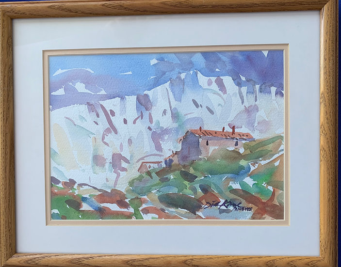 "White Mountains-Cezanne's France- 15' x 12"""