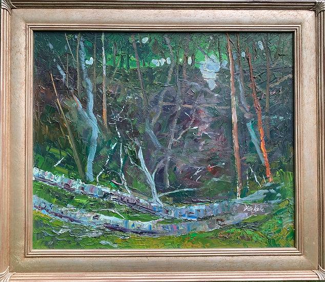 Forest Abode  29 x 25