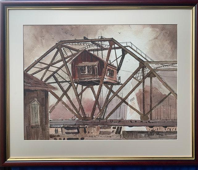 """Old Stutson St. Railroad Bridge-35""""x29"""""""