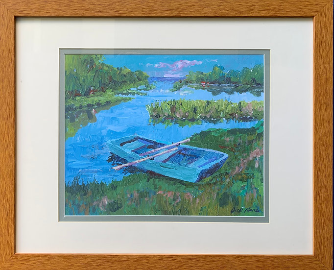 "Cape Cod Rowboat- 22"" x 18"""