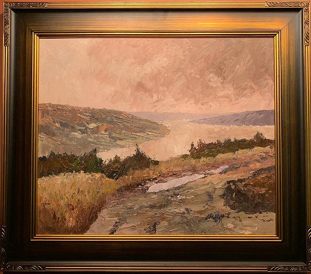 Keuka Lake Panorama 30 x26