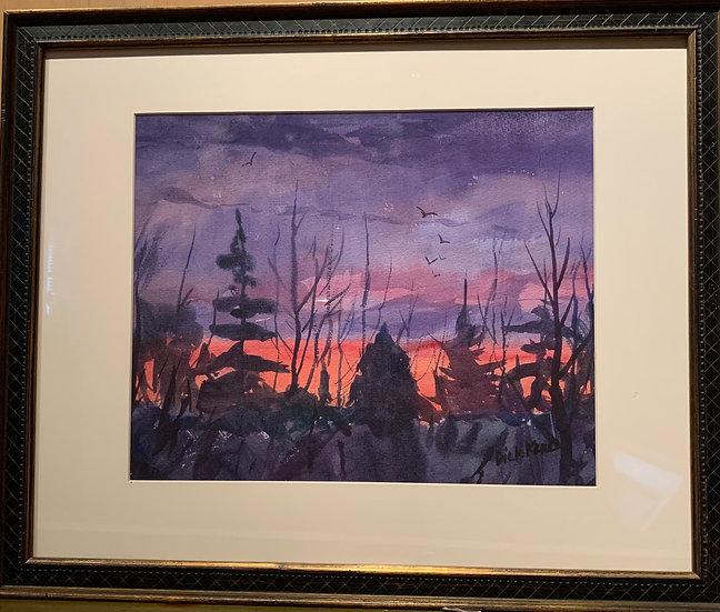 Daybreak, Vermont  22 x 18