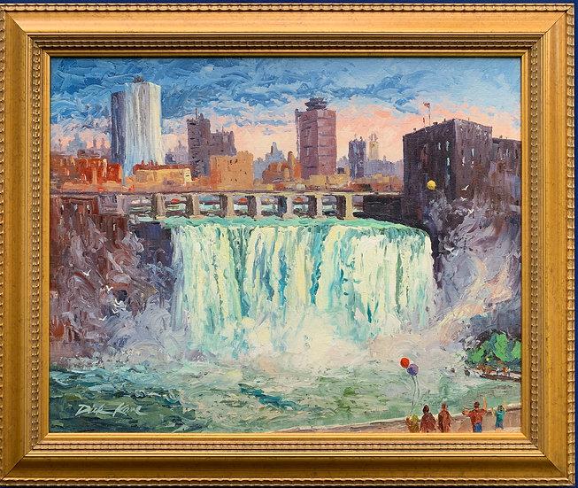 High Falls, Rochester, NY- 24 x 20