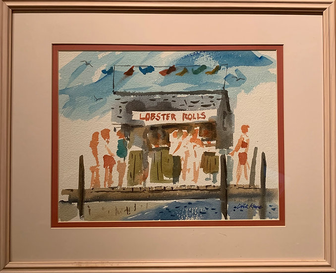 """Provincetown""  21 x 17"