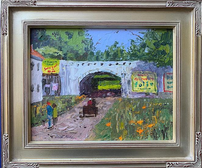 """Vincent Street-Arles, France  13"""" x 11"""""""