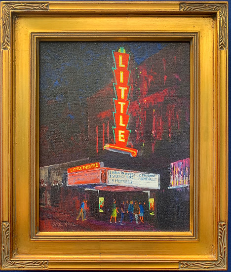 "The Little Theatre- 11"" x 13"""