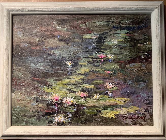 Lily Pond 24 x 20