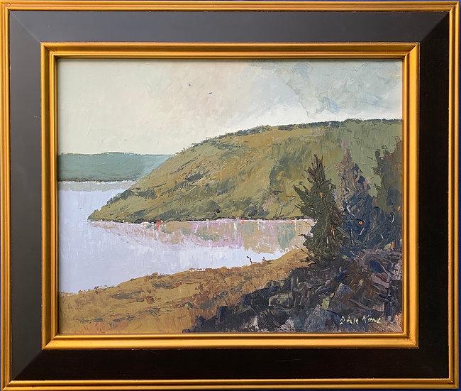 """Bluff Point, Keuka Lake- 26"""" x 22"""""""