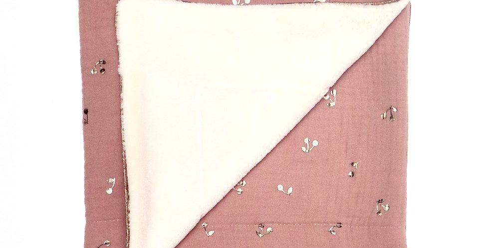 Pink Cherries Blanket