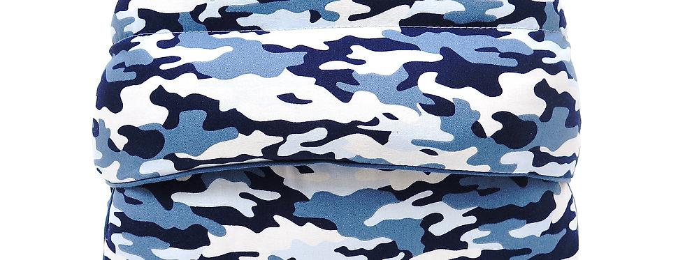 MATELAS CONFORT  Camouflage Bleu