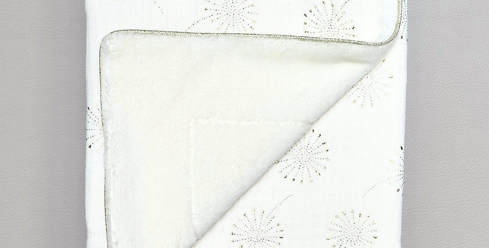 White Dandelion Blanket