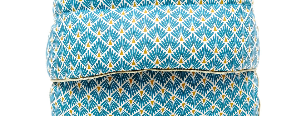 MATELAS CONFORT  Paon Turquoise