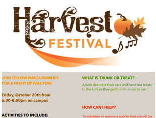 Harvest Festival this Friday!