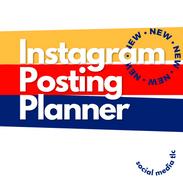 Instagram Posting Planner