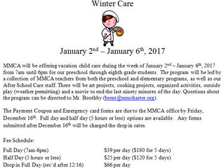 Winter Care 2017