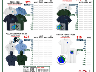 New School Uniform Vendor & Order Form!