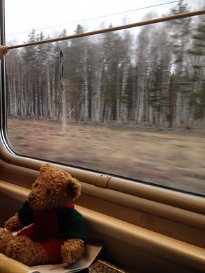 Familytravel: a teddy on the trans-Siberian