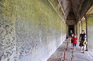 Family travel: Angkor Wat