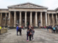 Family travel: outside the British Museum