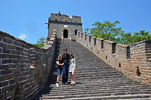 Family travel: on the Great Wall of China