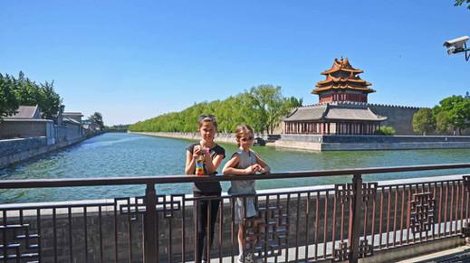 Exploring Beijing's Forbidden City with kids
