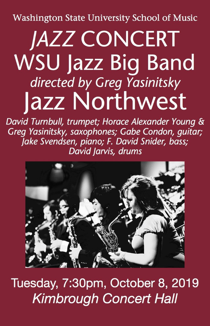 Performance with Jazz Northwest