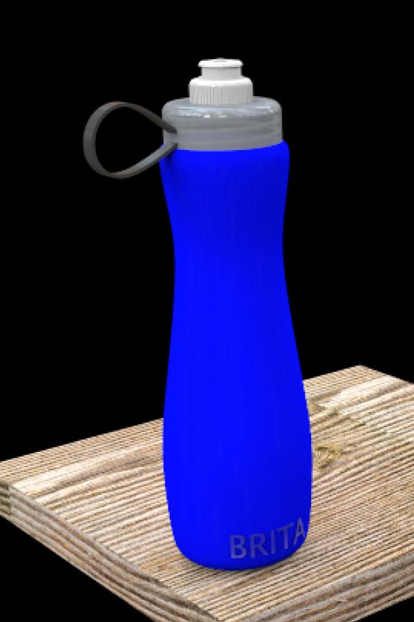 Rendered Entire Brita Bottle