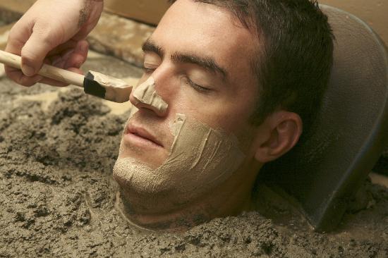 SY - Mud Facial golden-haven-hot-springs